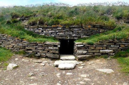 Tumbas prehistóricas en las Orcadas, Escocia