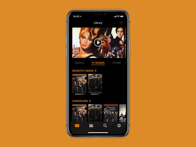 Infuse para iOS se actualiza: modo oscuro para el iPhone X y personalización de la pantalla de inicio