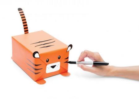 Un original kit para envolver tus regalos como si fueran animales