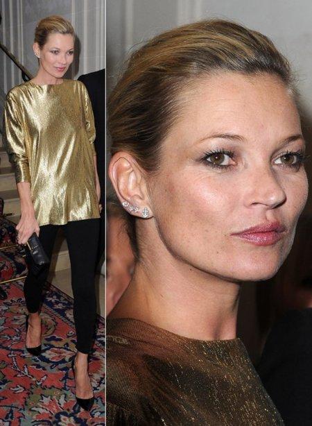 Kate Moss dorado