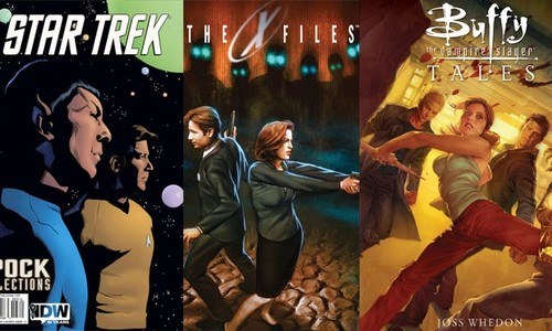 'Expediente X', 'Buffy', y otras 9 series que continuaron en forma de cómic
