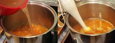 sopa de marisco elaboración 2