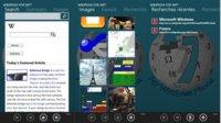 Wikipedia 7 para Windows Phone 7, diferenciándose del resto de Wikipedia Apps