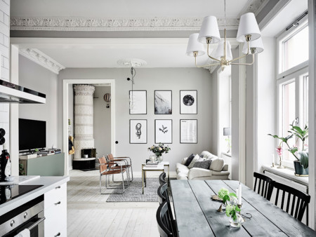 Casa que inspiran: un precioso apartamento de aires nórdicos en Gotemburgo