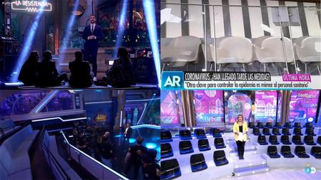 De 'OT 2020' a 'La Resistencia': el Coronavirus vacía los platós de televisión en España