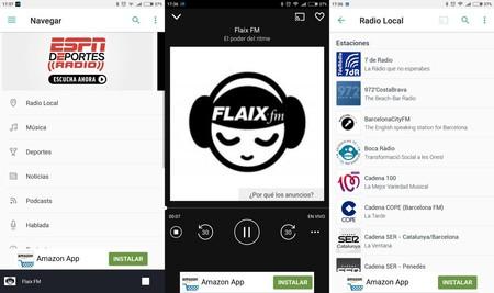 edc28e39d09 Si nada de lo anterior ha funcionado o tienes un iPhone, siempre te  quedarán las aplicaciones para escuchar la radio por streaming.