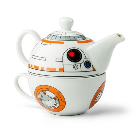 Bb8 Teapot Cup Set