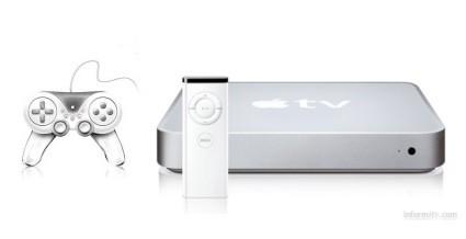 AppleTV podría recibir juegos