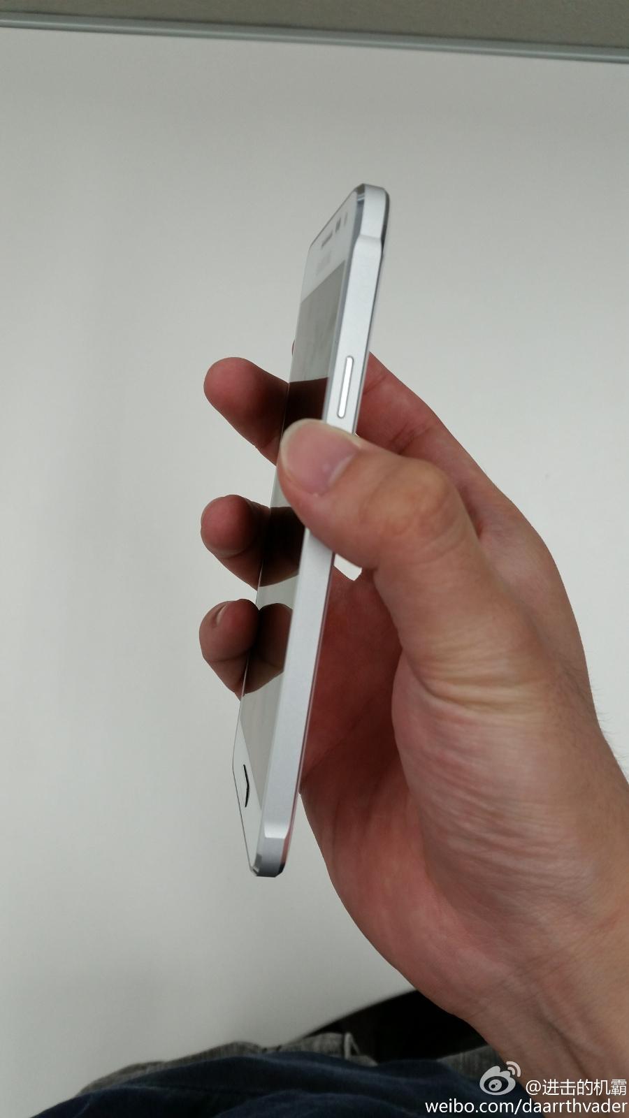 Samsung Galaxy Alpha blanco