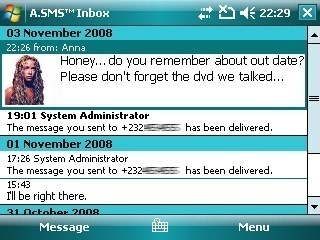 A.SMS Messaging, reemplazo para el gestor de SMS