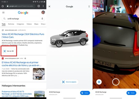 Coches 3d Google
