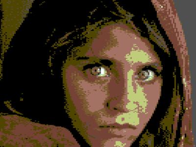 ¿Cómo se vería tu foto en un Commodore 64?