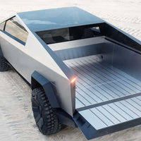 ¡Cazada! La Tesla Cybertruck ya se pasea en silencio por las carreteras californianas