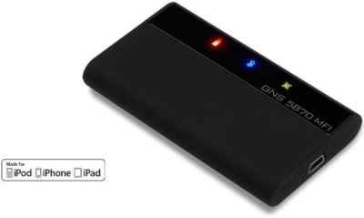 "GNS 5870 IMF, un GPS externo ""Made for iPod/iPad/iPhone"""