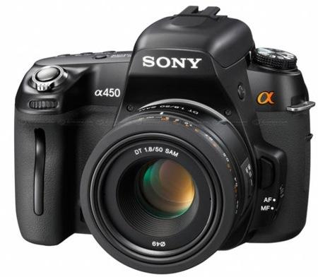 Sony Alpha A450, introducción al mundo réflex