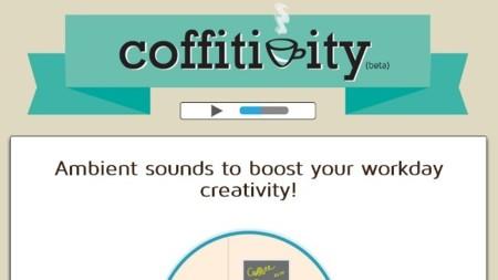 Trae la cafetería a casa con Coffitivity