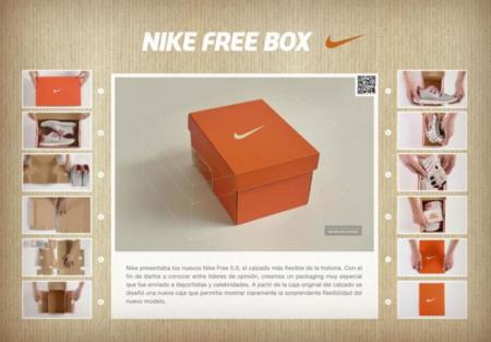 Nike Free Box para las Nike Free 5.0