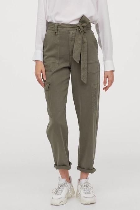 Pantalón utility en modal