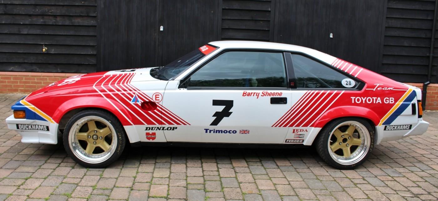 Toyota Supra Barry Sheene