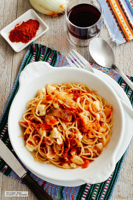 Espagueti Jitomate