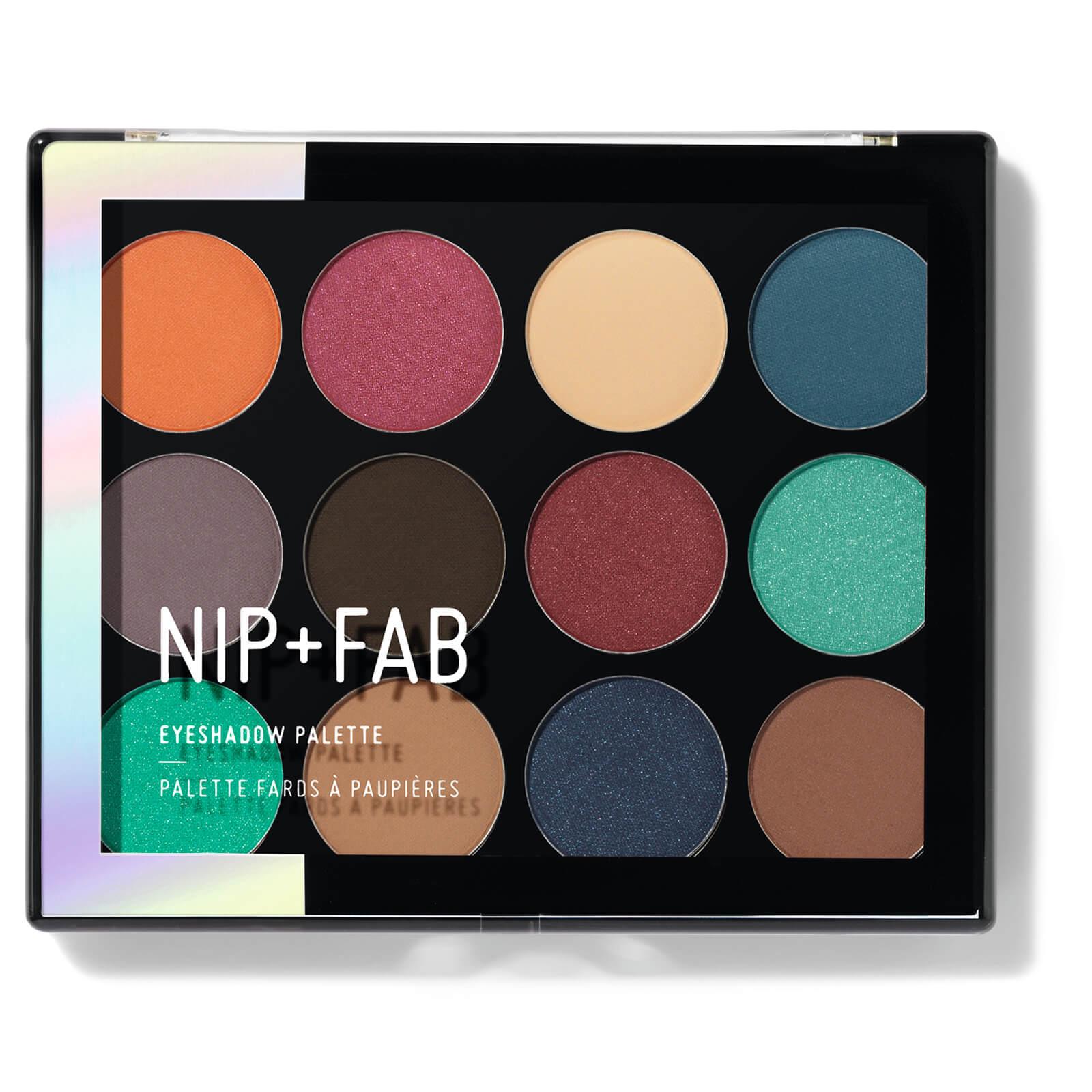Paleta de sombras Jewel de ojos de NIP + FAB