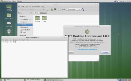 MATE Desktop 1.8 está terminado