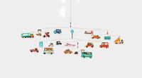 Traffic Mobile, un móvil para bebés que no pueden esperar a jugar con cochecitos