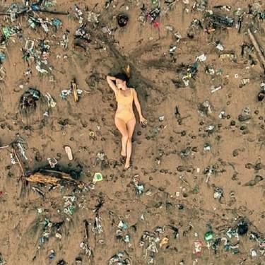 """Este reto viral de internet es ecológico y limpia la naturaleza de basura con los hashtags """"trashtag"""" y """"basurachallenge"""""""