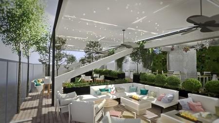 Hoteles con terraza Madrid