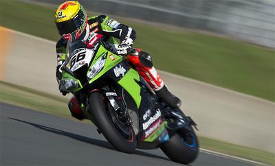 Superbikes Magny Cours 2012: agria victoria para Tom Sykes, gloria para Max Biaggi