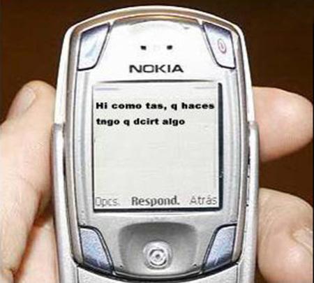 lenguaje sms