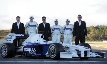 Presentado el nuevo BMW Sauber F1.09