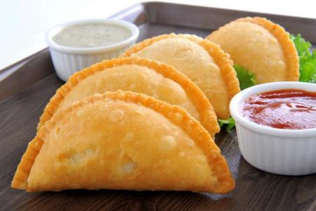 Empanadillas de verduras estilo hindú