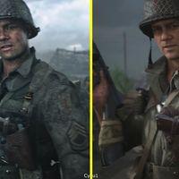 Call of Duty WWII: el tráiler de presentación frente a la versión final en una comparativa a pantalla dividida