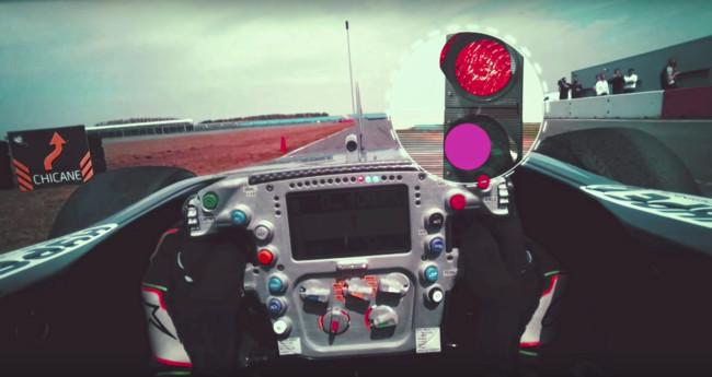 La tecnología de seguimiento de la mirada de Tobii nos permite comprobar cómo ve un piloto de Fórmula 1
