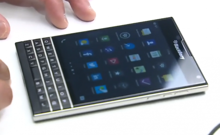 BlackBerry Passport también se deja ver en vídeo