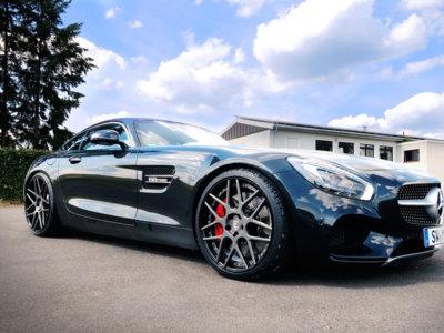 Zapatos más grandes para el Mercedes-AMG GT S