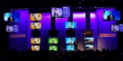 Sharp nos muestra un televisor 8k y su nueva gama Q+