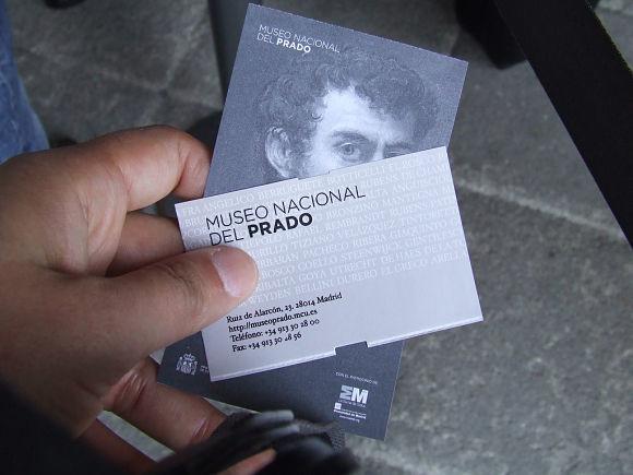 Entrada Museo del Prado (Especial 200 aniversario)