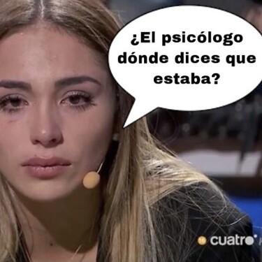 'La Casa Fuerte 2': Sandra Pica, rota y sin consuelo tras el lapsus de Tom Brusse al confundirla con Melyssa