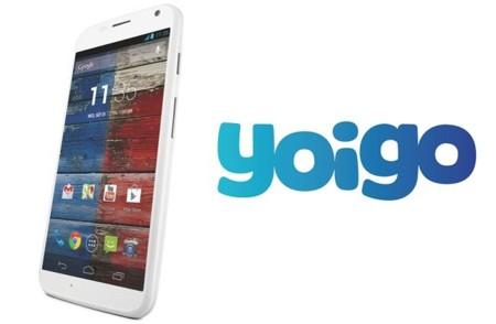 Precios Motorola Moto X con Yoigo