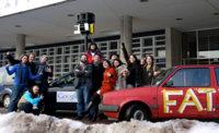 La imagen de la semana: Construye un coche Google StreetView (de pega)