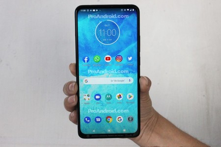 Motorola One 2019 Camara Frontal Pop Up 64 Megapixeles Todo Pantalla
