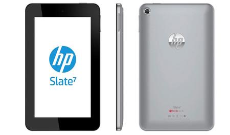 HP Slate 7, la primera tablet con Android de la compañía