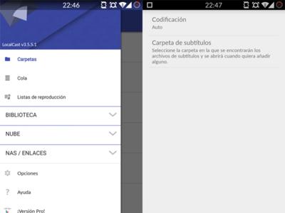 LocalCast se actualiza con envío de vídeos con subtítulos a la tele por Chromecast