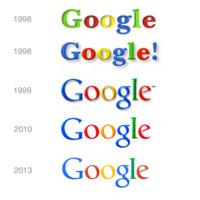 Evolución del logo de Google