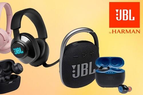 Semana de ofertas en sonido JBL en Amazon: auriculares de diadema, gaming, true wireless y altavoces Bluetooth a los mejores precios