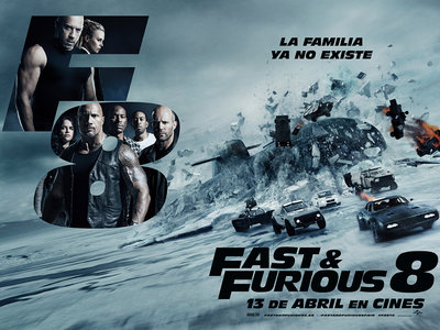 Taquilla: 'Fast & Furious 8' logra el mayor estreno de la historia, 'La bella y la bestia' alcanza 1.000 millones