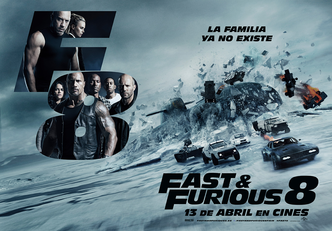 taquilla 39 fast furious 8 39 logra el mayor estreno de la. Black Bedroom Furniture Sets. Home Design Ideas