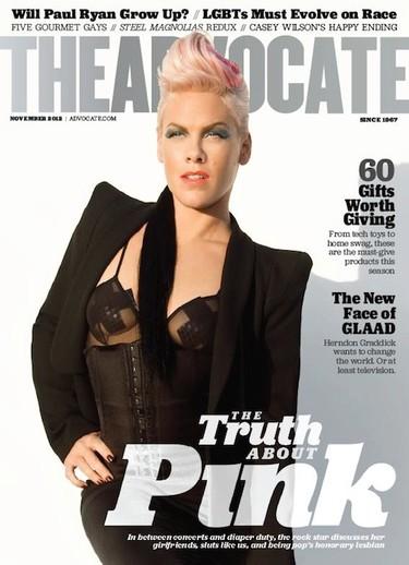 Para raro, raro... el pasado bisexual (o heterosexual, porque no queda claro) de Pink